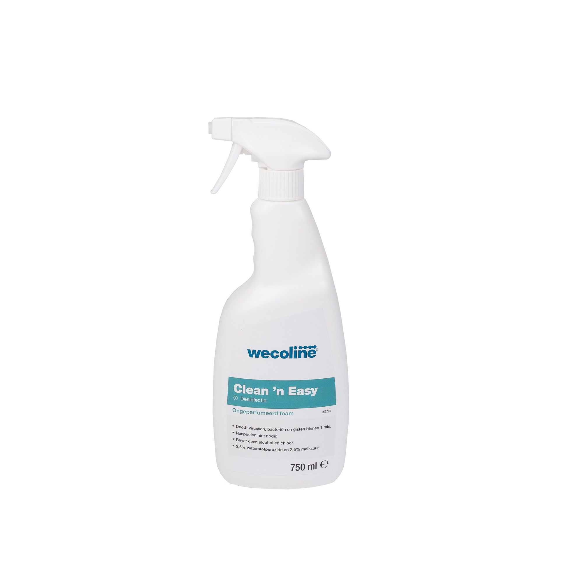 Clean 'n Easy Desinfectie Foamspray 6 x 750 ml