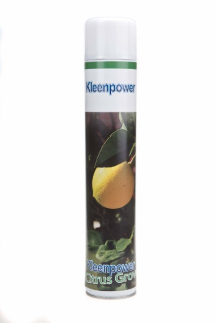 Kleenpower powerspray Citrus luchtverfrisser 750 ml