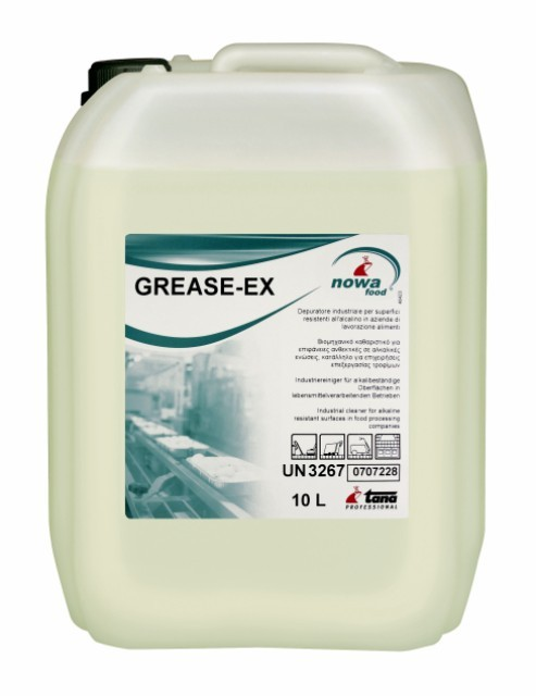 Tana Grease-Ex ontvetter