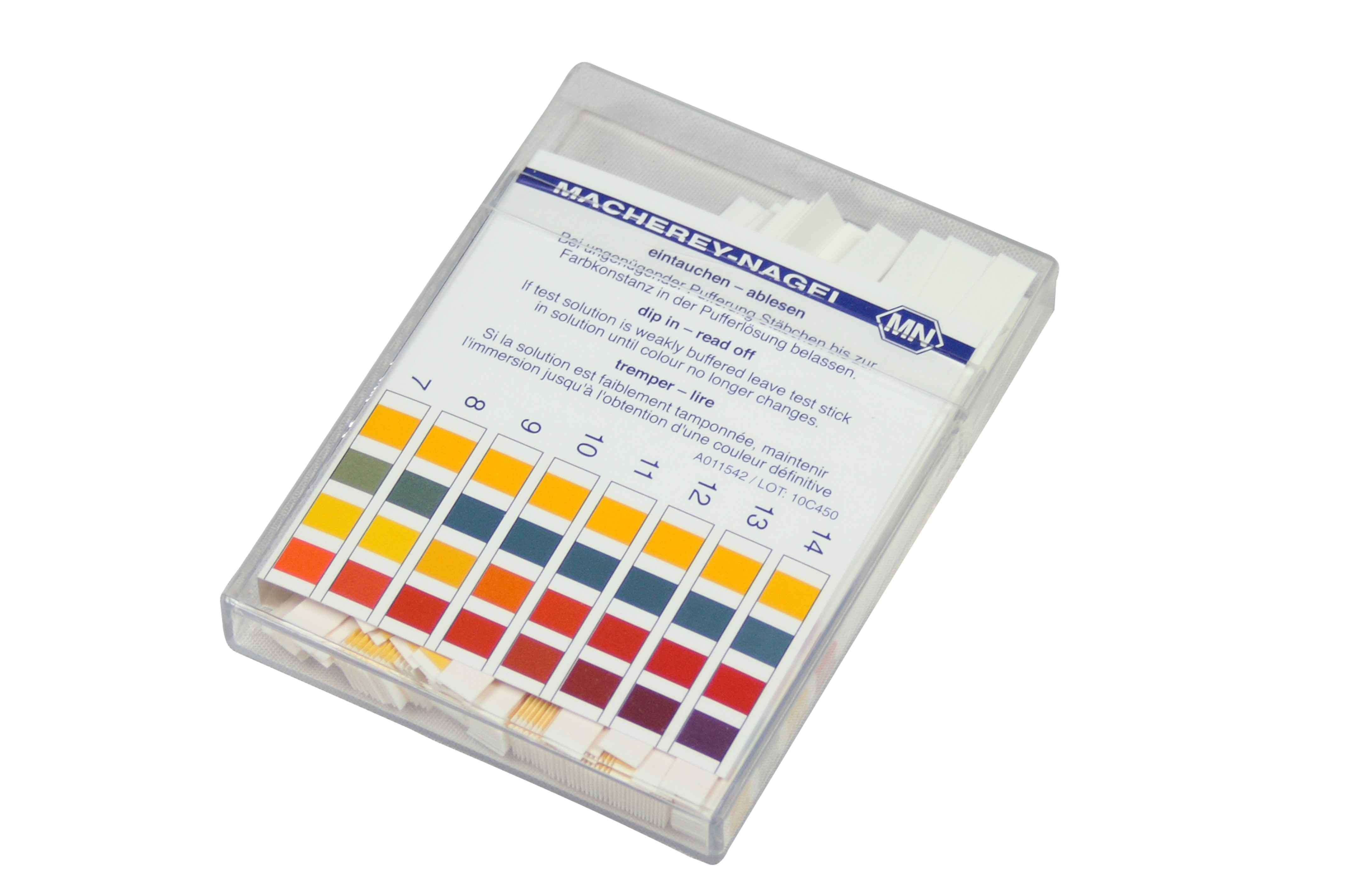 Ph indicatorpapier 100 stuk