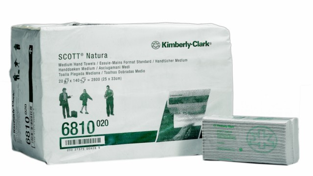 Kimberly Clark Scott handdoek Medium C-vouw 2laags
