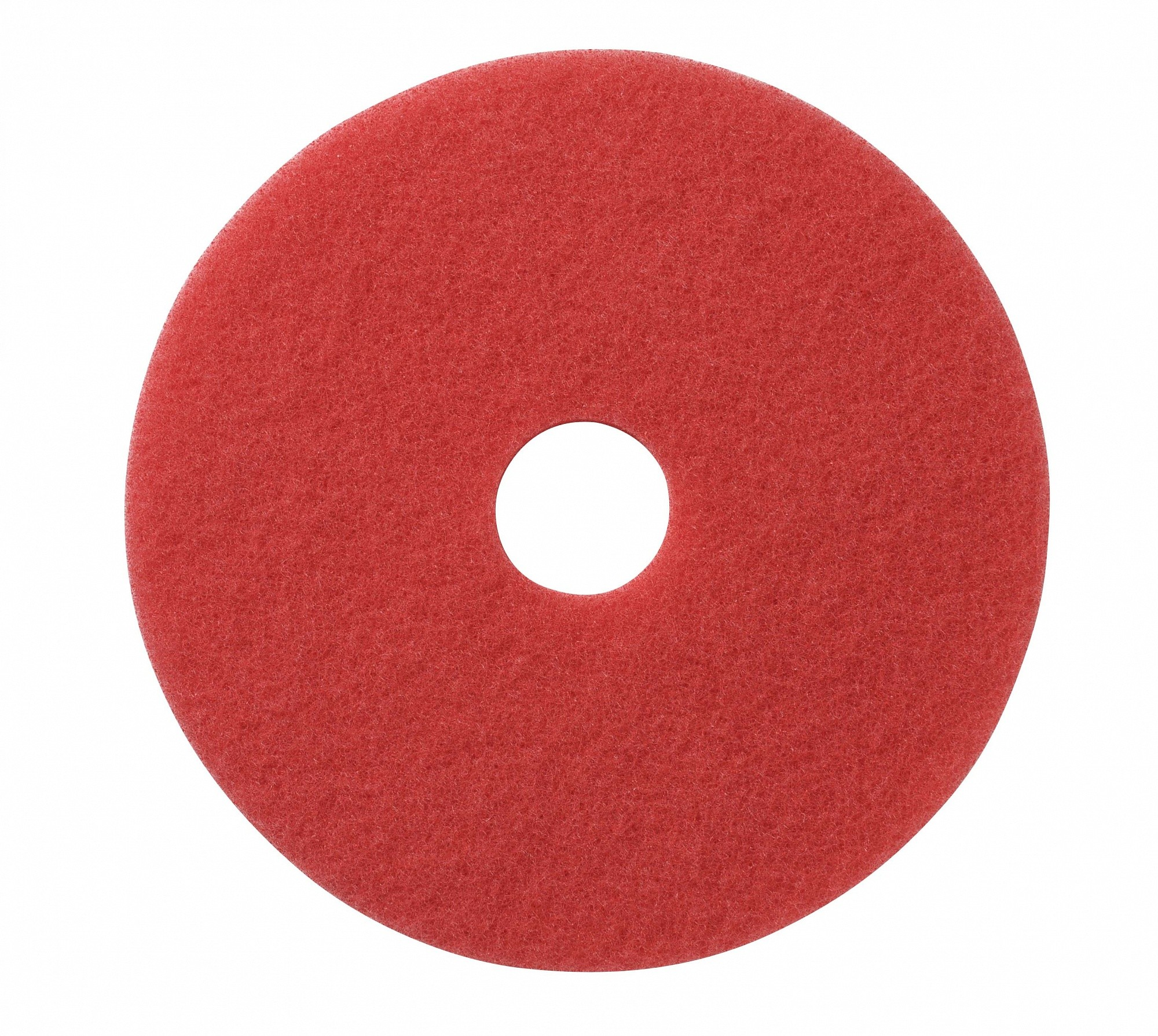 Polyester pad rood Diverse maten