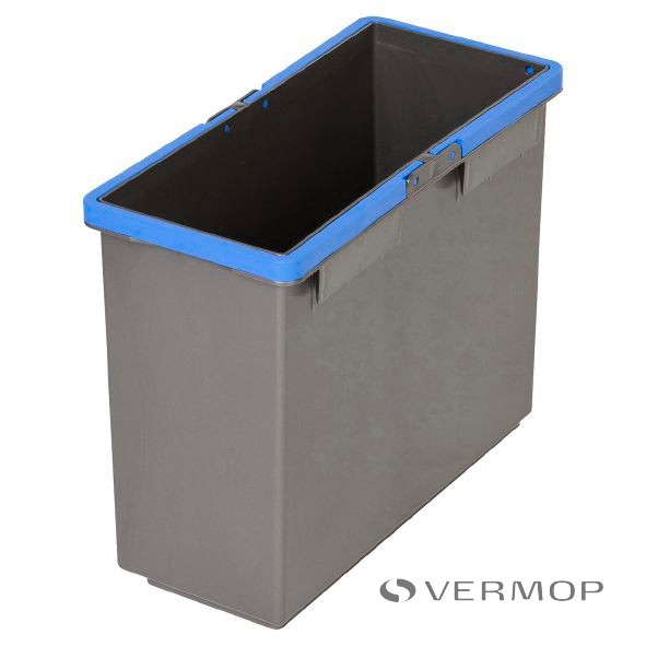 Vermop Shopster emmer links blauw 8 ltr