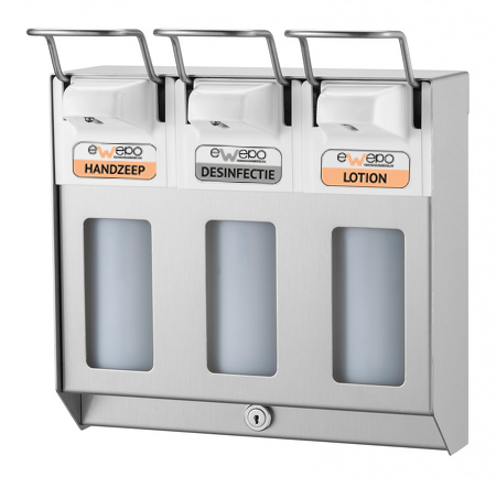 Trio zeepdispenser RVS 500 ml