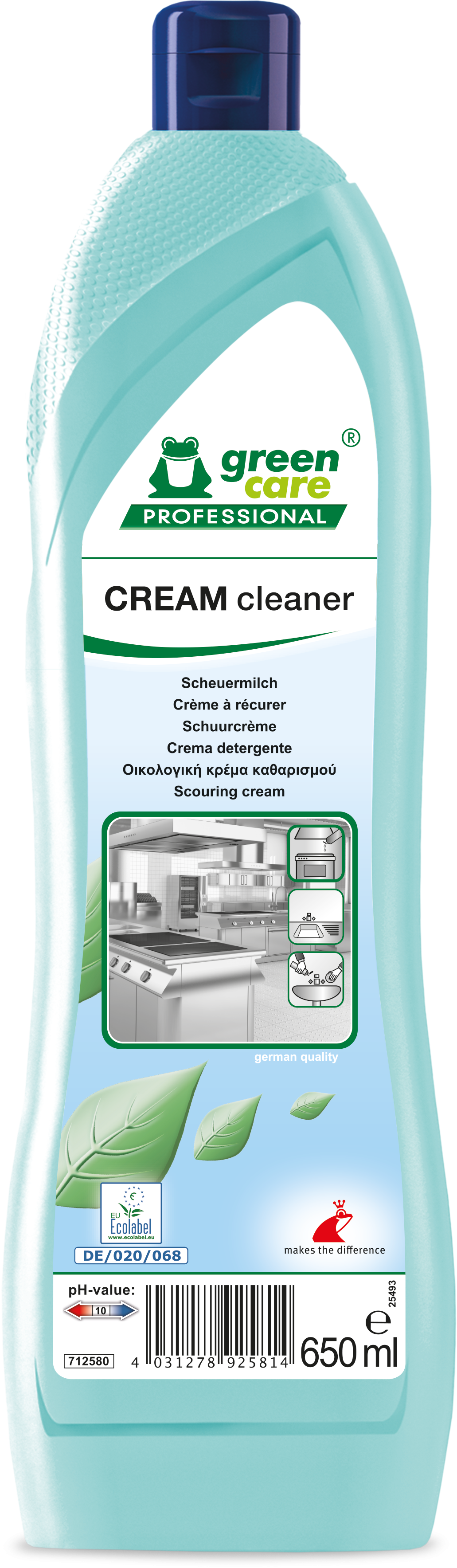 Tana Green Care Cream Cleaner 10 x 650 ml