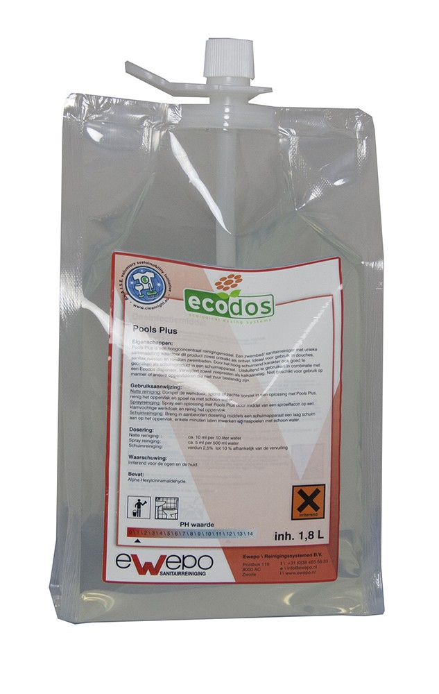 Ewepo ECODOS Pools Plus 3 x 1,8 liter