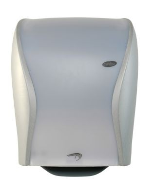 Hagleitner xibu sense towel dispenser Steel