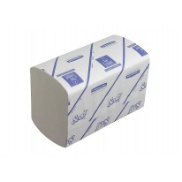 Kimberly Clark Scott Xtra handdoek - interfold - wit - 15x240 doeken