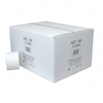 MTS Euro doppenrol gerecycled toiletpapier wit 2 laags 36 x 100 meter