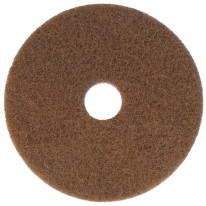 """polyester pad bruin 17"""""""