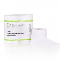 Ecowipe toiletpapier recycled 2 laags