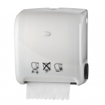Pearl White Handdoekautomaat Autocut Euromatic