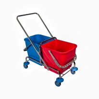 Wecoline Rolemmer chroom 2 x 25 L -  exclusief pers