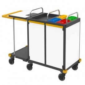 Vermop Equipe Advanced Plus II werkwagen 155 x 56 x 114 cm