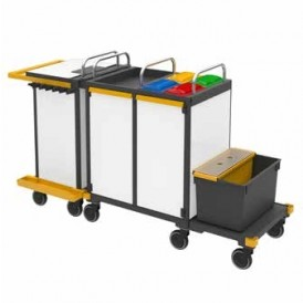 Vermop Equipe Advanced Plus IV werkwagen 192 x 66 x 116 cm
