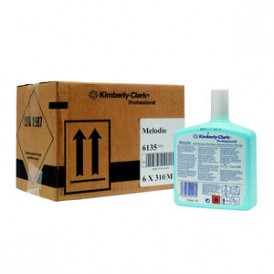 Kimberly Clark Melodie aircare voor Aqua / Ripple 6 x 310 ml