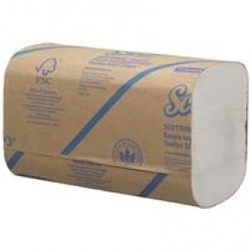 Kimberly Clark Scott handdoek - interfold - 1 laags - 25x175 stuks