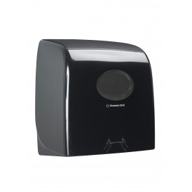 KC Aquarius Slimroll dispenser zwart