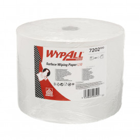 Wypall L10 Extra+ poetsrol wit 1 laags 1000 vel