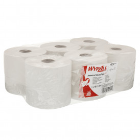 Wypall L20 Extra poetsrol wit 2 laags 6 x 300 vel