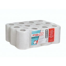Wypall L10 Extra Poetsrol wit 1 laags 12 x 200 vel