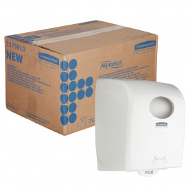 Kimberly Clark Aquarius rolhanddoekdispenser wit