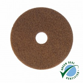 Wecoline polyester pad bruin 10 inch