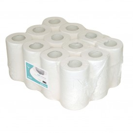 MTS Euro mini poetsrol eco cellulose - 1 laags - 12x120 meter