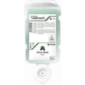 Stoko Refresh citrus washfoam 4x1000 ml.