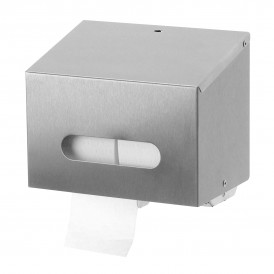 MTS Euro Sanfer toiletpapier dispenser RVS