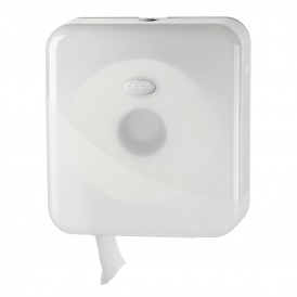 Pearl White Mini jumbo toiletroldispenser