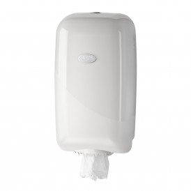 Pearl White minirol dispenser - wit