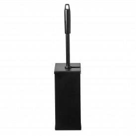 Groveko Quartz Black toiletborstelhouder - RVS