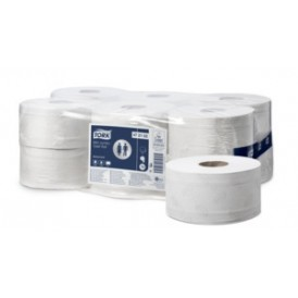Tork mini jumbo toilet roll 2 laags 12x180m