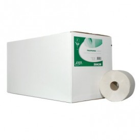 Ecowipe Compact toiletpapier wit gerecycled 1 laags 24 x 150 meter