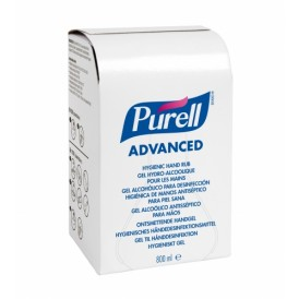 GO-JO Purell Advanced hygienic hand rub 12 x 800 ml