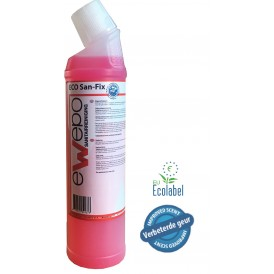 Ewepo Eco San Fix toiletpotontkalker 6 x 750ml.