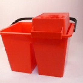 C10 duo mopemmer 2 x 5 L. ROOD