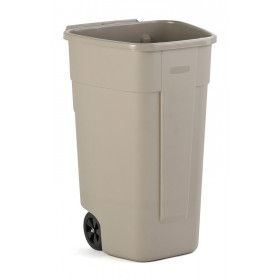 Rubbermaid Mobiele Container - Beige - 110 liter