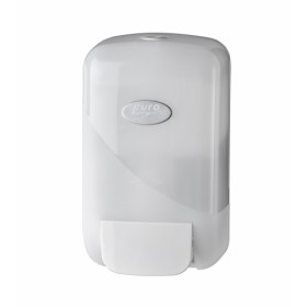Pearl foam en toiletseat dispenser wit