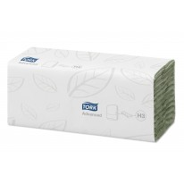 Tork Advanced Hand Towel C Fold  Green 20x180 vel